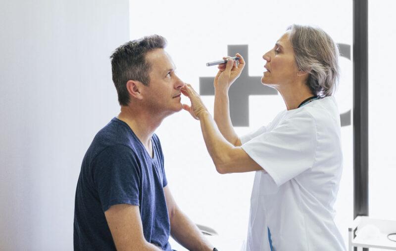 houston eyecare exam
